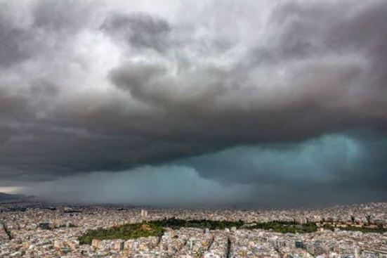 athens storm