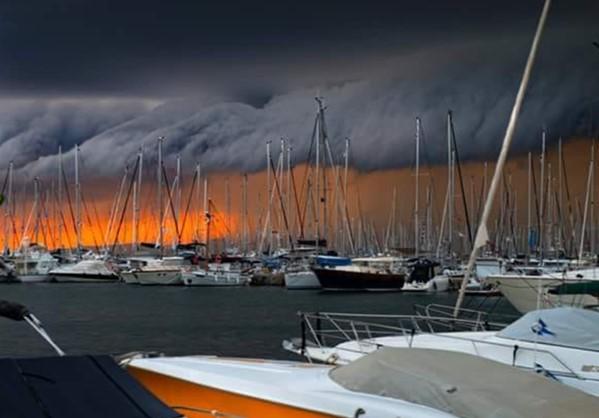 Αποτέλεσμα εικόνας για καταιγιδα αθηνα